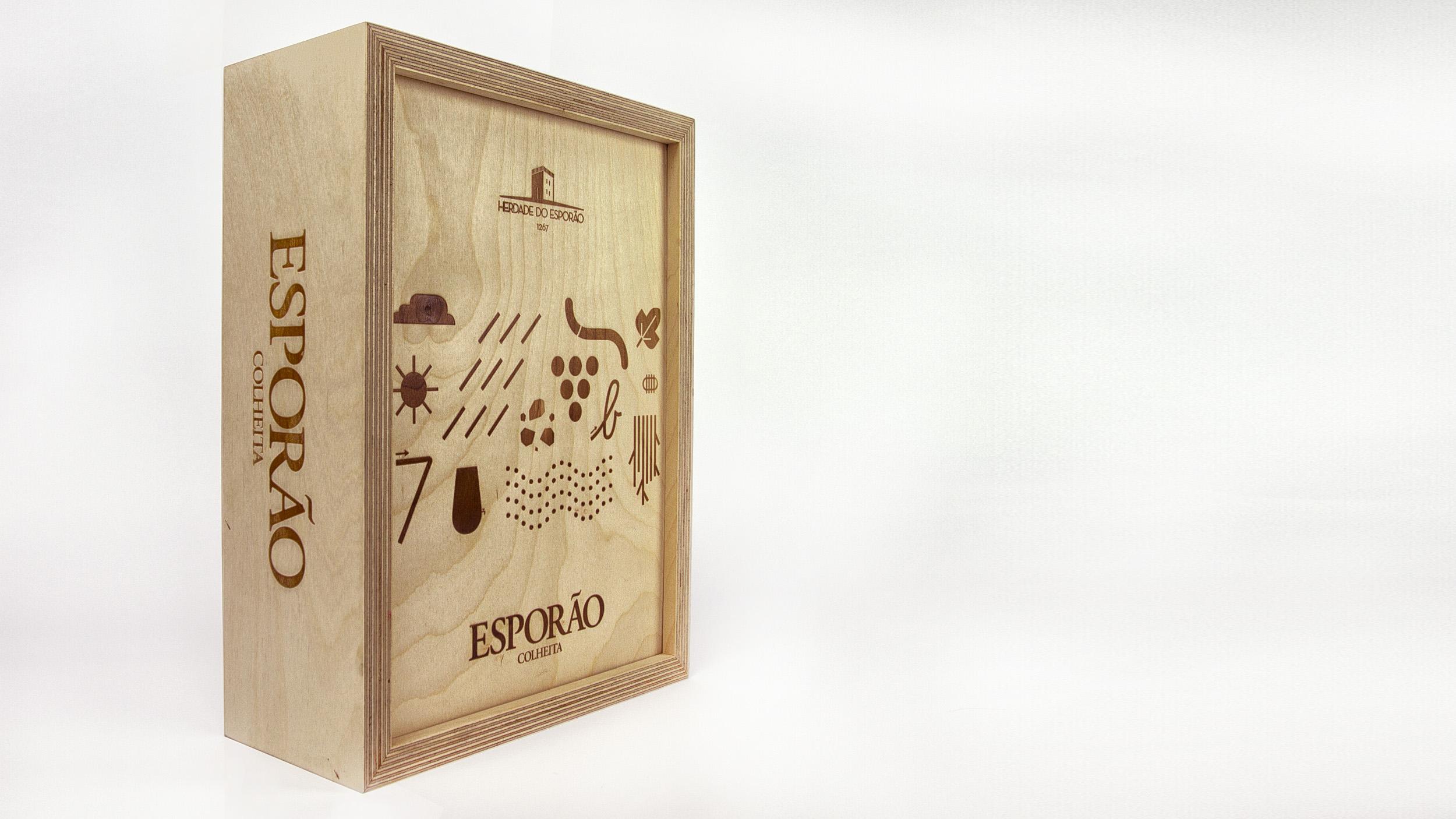 Caixa de Madeira do Esporão